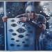 МДФ, м., коллаж, зеркальные стекла, 90х110, 2014