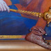 х., м., коллаж, эксклюзивная рама ручной работы, 100х70, 2014