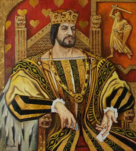 """Червовый король (Триптих """"Карточные короли"""")"""